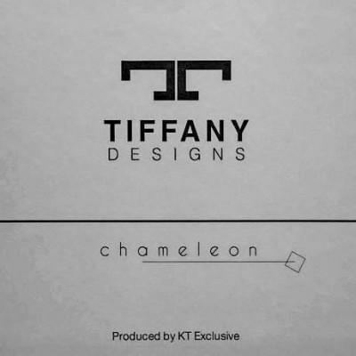 "TIFFANY DESIGNS "" CHAMELEON"""
